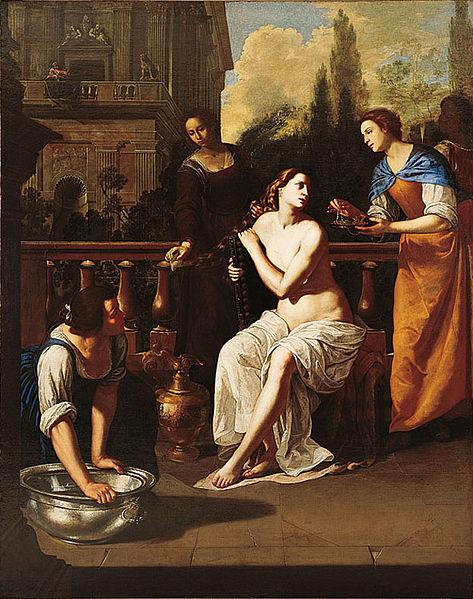 Bathsheba by Artemisia Gentileschi (1636)