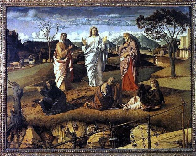 Giovanni Bellini, Transfiguration of Christ (1487-1495)