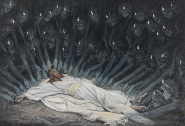 James Tissot, Jesus Ministered to by the Angels (1886-1894)