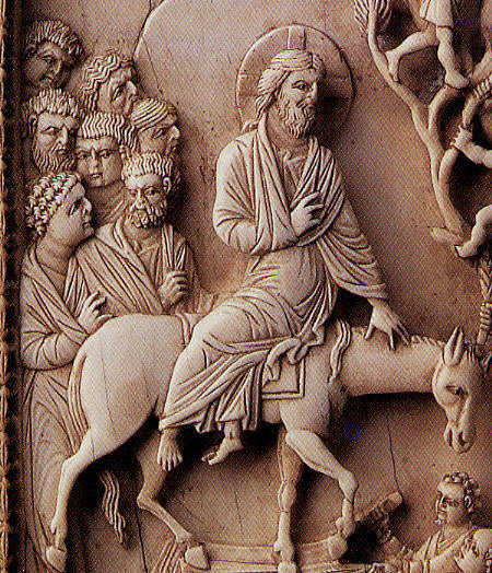 Ivory Constantinople, c. 950-1000 Jesus Entry