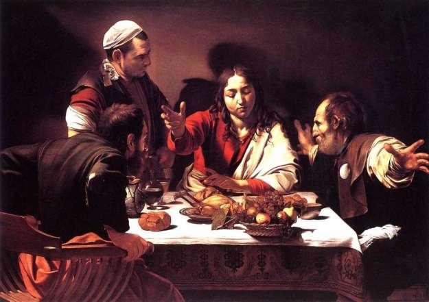 Caravaggio, Supper at Emmaus (1601-02)