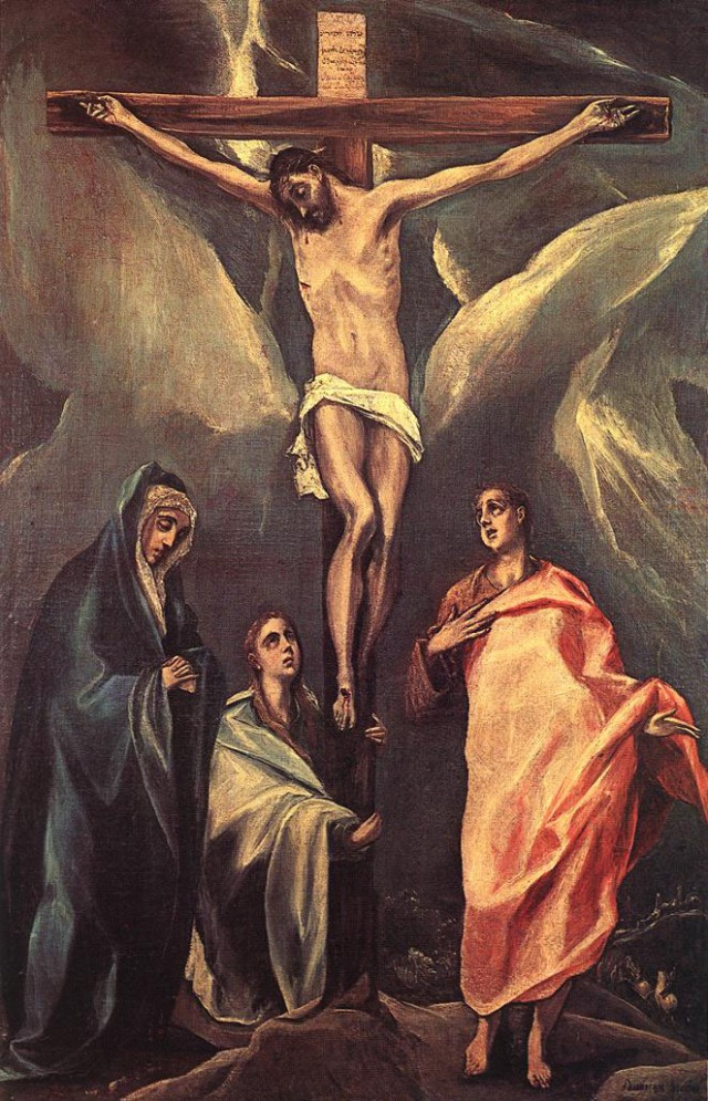 El Greco, Christ on the Cross (1588)