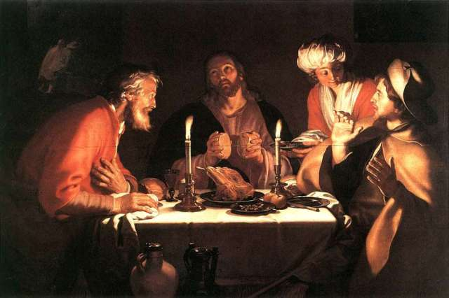 Bloemart, the Emmaus Disciples, 1622