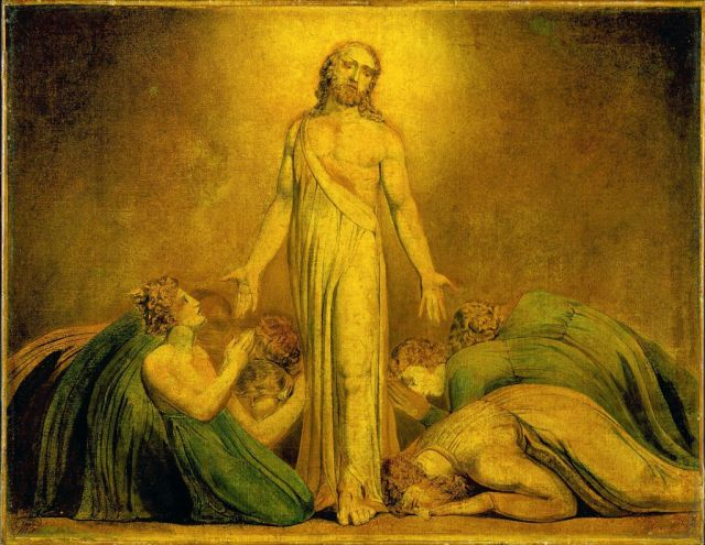 William Blake, Christ Appearing to the Apostles After the Resurrection (1795)
