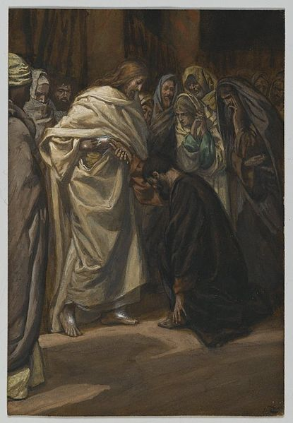 James Tissot, The Disbelief of Saint Thomas (1886-1894)