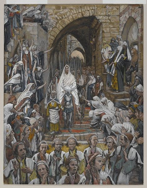 James Tissot, The Procession in the Streets of Jerusalem (1886-1902)