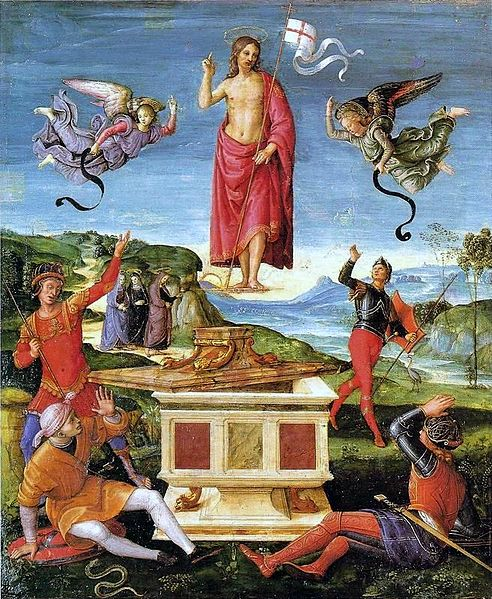 The Resurrection of Christ, Raphael (1499-1502)
