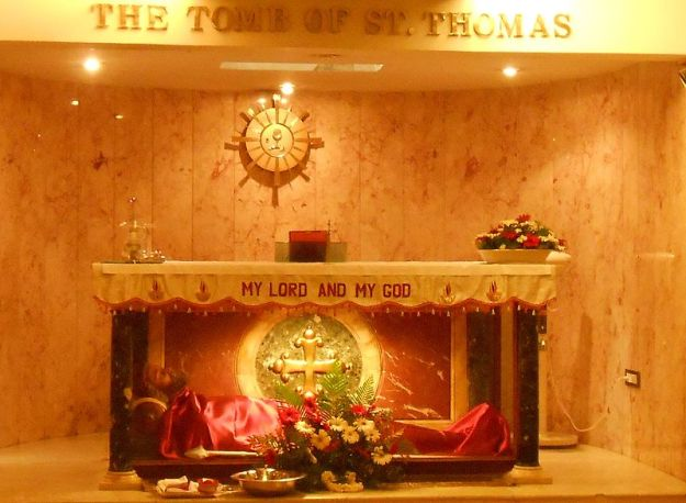 The Tomb of St. Thomas the Apostle in Mylapore, India