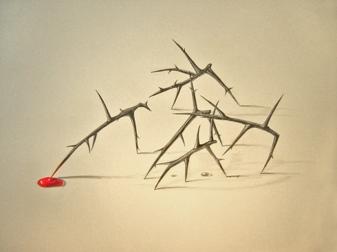 Crucifixion by tatertot101010@deviantart.com