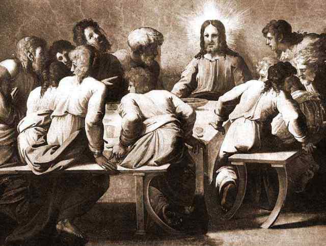 Raphael, Entretien de Jesus avec ses inteme