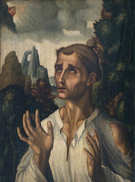 Luis de Morales, San Esteban (1575)