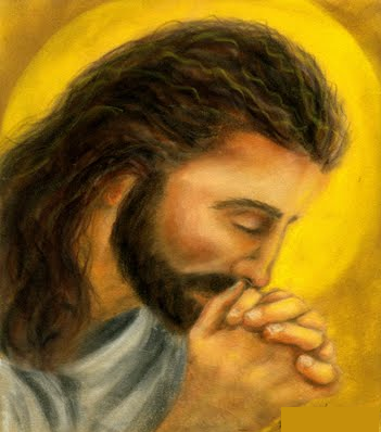 Jesus Praying by 12345100@deviantart.com