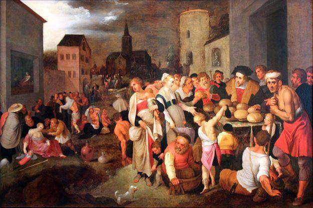 Frans Francken, Werke der Barmherzigkeit (1605)