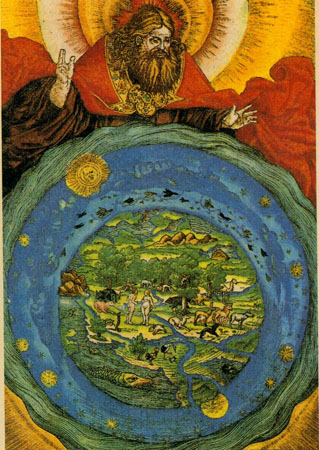Lukas Cranach, Day 7 Shabbat, The Rest of God and Man, from the Lutherbibel (1534)