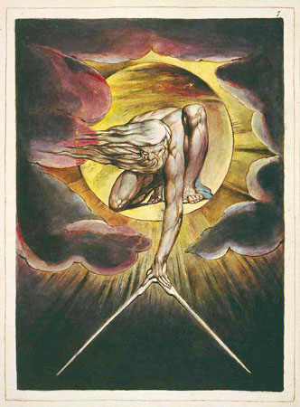 William Blake, The Ancient of Days: The Division of Light and Darkness (1794)