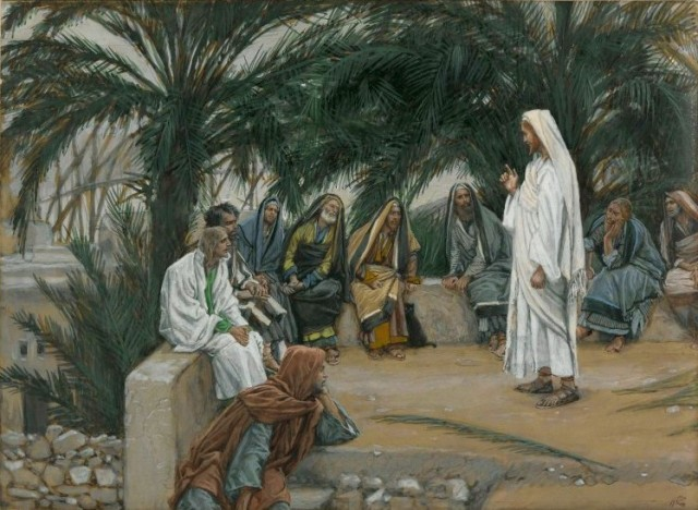 James Tissot, The First Shall Be Last, Between 1886 and 1984