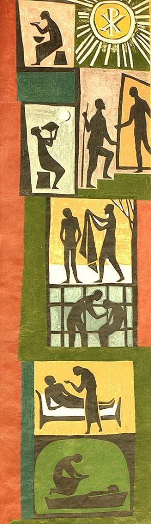 Diakoniegemaelde Neuendettelsaus by Alexander Rahm, Author released image to public domain