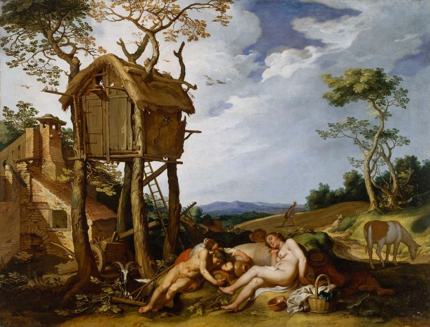 Abraham Bloemaert, The Parable of the Wheat and Tares (1624)