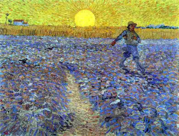 Vincent van Gogh, The Sower with a Setting Sun