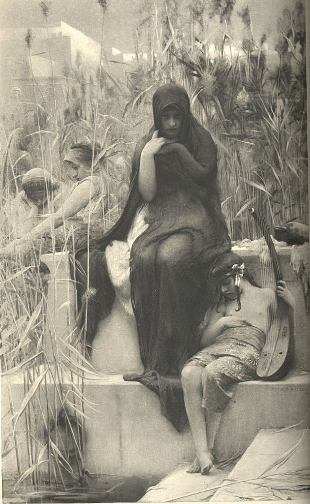 Athur Kacker, By the Waters of Babylon (1888)