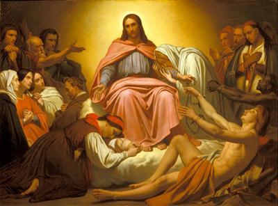 Amy Scheffer, Christus Consolator (1836)