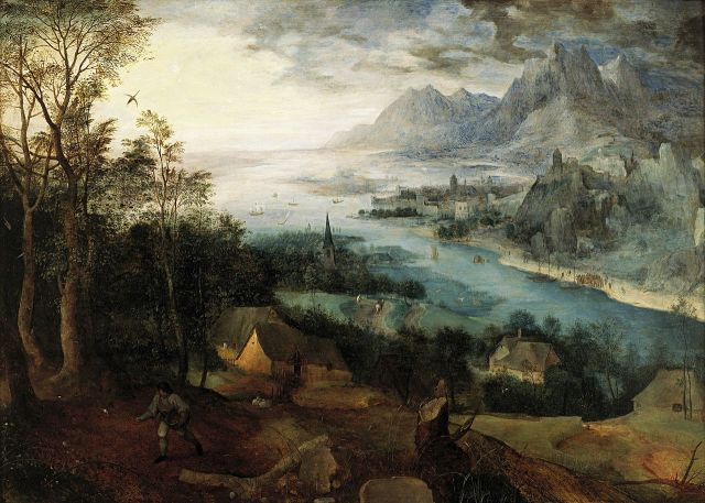 Pieter Bruegel the Elder, Landscape with the Parable of the Sower