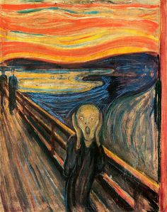 Edvard Munch, The Scream (Der Schrei der Natur) 1893