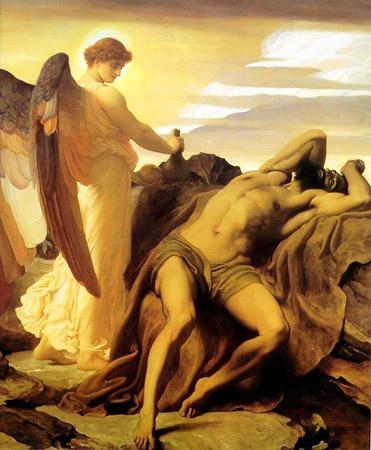 Elijah in the Wilderness, Raphael or Raphael's school