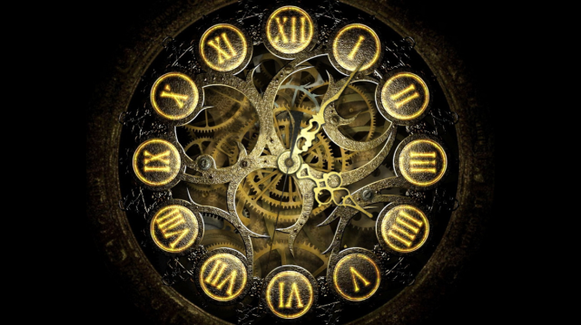 Mechanical Clock by jimking@deviantart.com