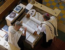 The Reading of Torah in Synagogue