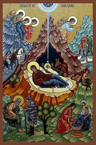 The Nativity of Christ, Icon by Ranosonar