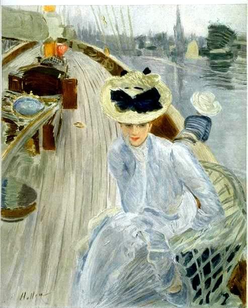 Paul Cesar Helleu, Daydream (1901)