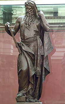 Statue of Moses at the Library of Congress, Washington D.C.