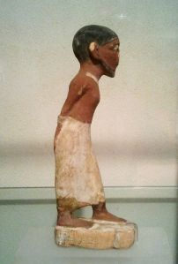 Figurine of a Semitic Slave, Acient Egyptian figurine, Hecht Museum