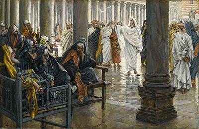 James Tissot, Woe Unto You Scribes and Pharisees