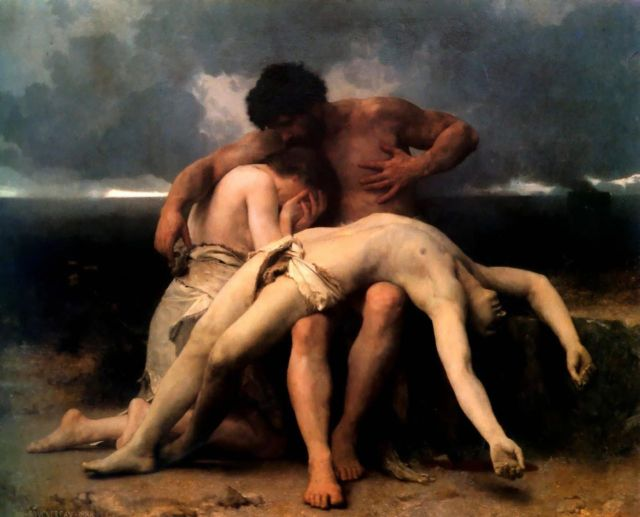 """Bouguereau-The First Mourning-1888"" by William-Adolphe Bouguereau - Art Renewal Center – description. Licensed under Public Domain via Commons - https://commons.wikimedia.org/wiki/File:Bouguereau-The_First_Mourning-1888.jpg#/media/File:Bouguereau-The_First_Mourning-1888.jpg"