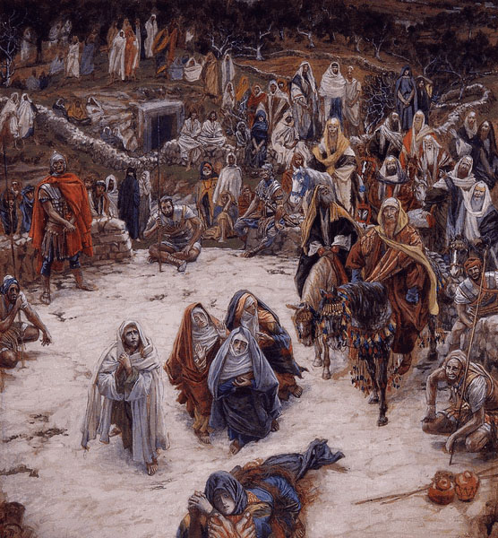 The Crucifixion as Seen from the Cross by James Tissot, 19th Century