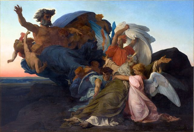 Alexandre Cabanel, The Death of Moses (1850)