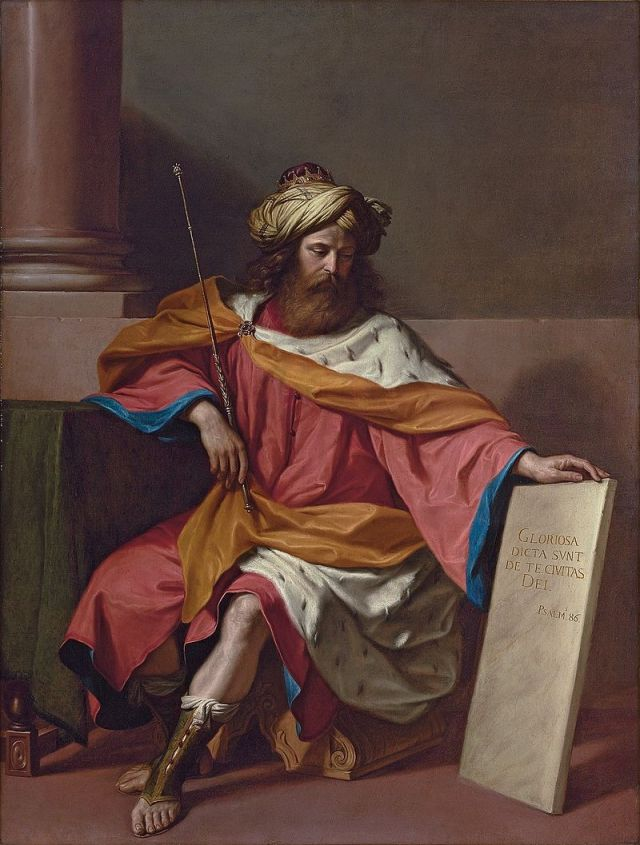 Giovanni Francesco Barberi (il Guercino), King David (1651)