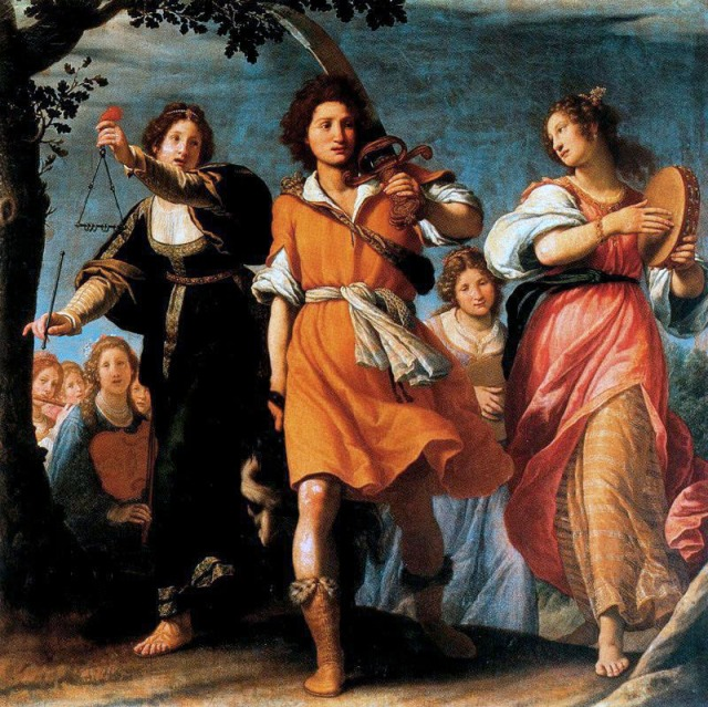 Matteo Rosseli, Triunfo de David (1620)