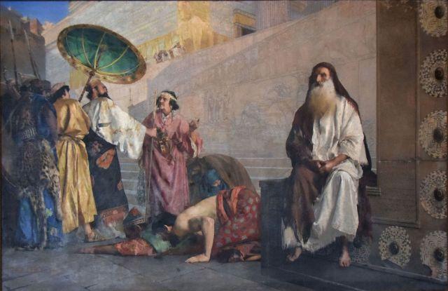 Paul Alexander Leroy, Haman and Mordecai (1884)