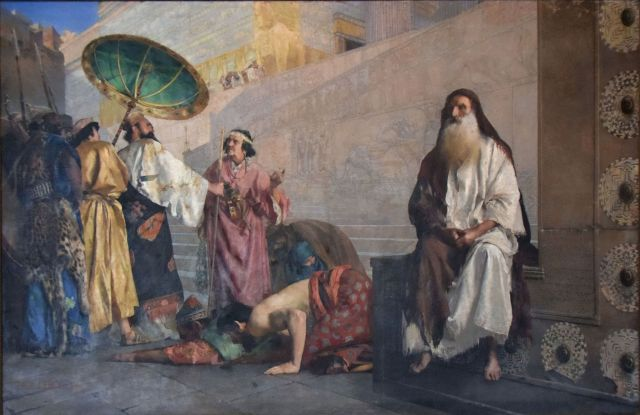 Paul Alexander Leroy, Haman and Mordecai (1884)