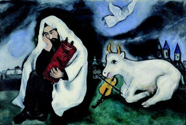 Marc Chagall, Solitude (1933)