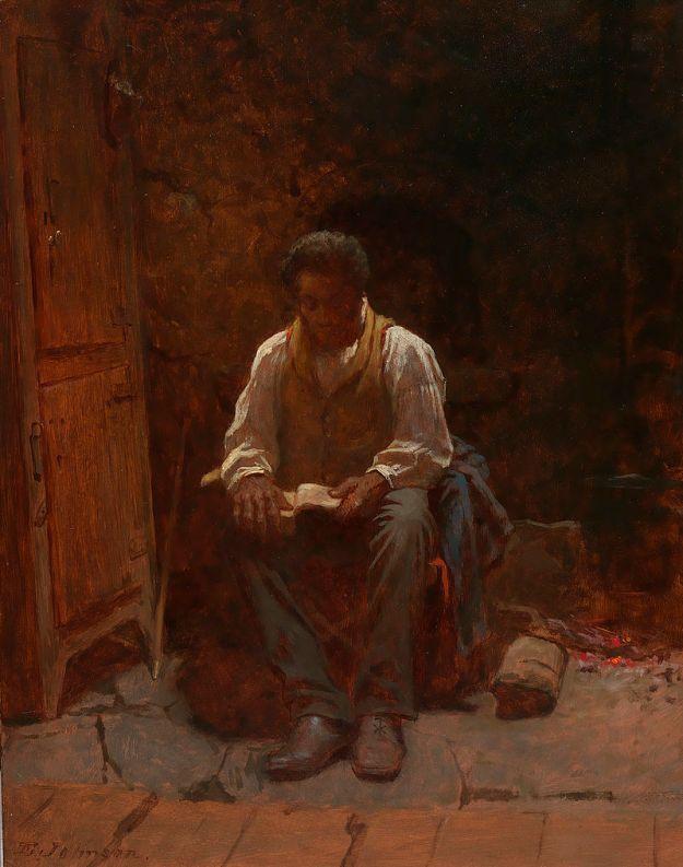 Eastman Johnson, The Lord is My Shepherd (1863)