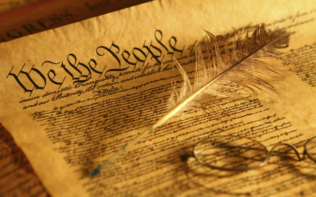 Image of the U.S. Constitution from http://wvconstitutionaladvocates.com/u-s-constitution/