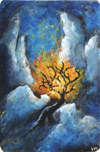 Burning Bush by Quirill at deviantart.com