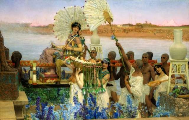 Lawrence Alma-Tadema, The Finding of Moses (1904)