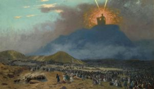 Image result for Exodus 24:18 painting